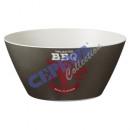 Bowl 'BBQ', gr, 24cm d