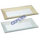 Platte Glam, kl, 2/s, 27x13cm