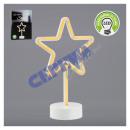 LED NEON lamp on Fu� star, 28cm h
