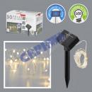 LED light string copper wire SOLAR, 50 LED, 590cm