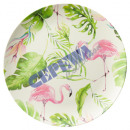 wholesale Crockery: plate Tropic, green, 25cm dia
