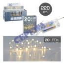20 LED fairy lights micro, 220cm