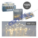 100 LED Fairy Lights Micro, 1000cm