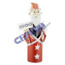 Weinflaschenhalter Santa, 34cm h