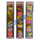 wholesale Gifts & Stationery: Eraser  sweets , Set of 7, 3 / s