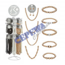 wholesale Business Equipment: Beaded  accessories, 18 / s, on stand