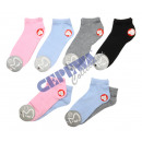 Großhandel Strümpfe & Socken: Sneaker Socken Damen 2er Pack, 7/s