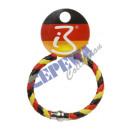 Armband   Fussball-PVC  Deutschland