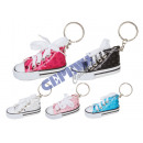 wholesale Sports Shoes: Keyring  'Sneaker', 5 / s in PVC tube