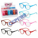 wholesale Reading Glasses: Reading aid with cloth case 'Neon', 6 ...
