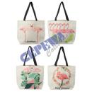 Großhandel sonstige Taschen: Strandtasche 'Flamingo' 4/s