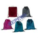 Großhandel sonstige Taschen: Matchbeutel 'Velvet', 5/s, ca. 34x43cm