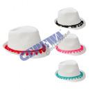 Großhandel Kopfbedeckung:Hut 'Quaste', 2/s
