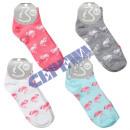 Women's Sneaker Socks 2 Pack 'Flamingo&#39