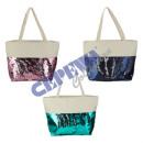 Großhandel sonstige Taschen: Strandtasche 'Paillette', 3/s ca. 50x37cm