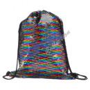 Großhandel sonstige Taschen: Matchbeutel, Paillette, Regenbogen, ca. ...