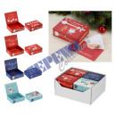 Money gift music box Christmas, 4 / s, approx. 11x