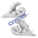 groothandel Figuren & beelden: Gesorteerd engel  liggend in zijn vleugel, 2-voudig