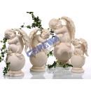 groothandel Figuren & beelden: Angel, zittend op de bal, 2 assorti, S