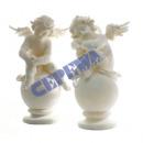 groothandel Figuren & beelden: Angel, zittend op  de bal, 2 keer s., XL