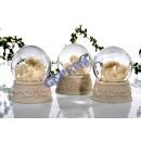 grossiste Cadeaux et papeterie: Ange dans une  boule de cristal, 3 assortis, grande