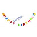 grossiste Cadeaux et papeterie: Felt Garland  Joyeux  anniversaire ...