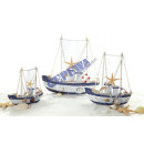 Fishing boat with fishing net, approximately 12x12