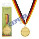 """grossiste Cadeaux et papeterie: Médaille d'or  """"Champion du Monde"""""""