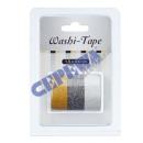 wholesale Other: Washi Tape  Glam , set of 3, 1,5x300cm