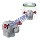 grossiste Cadeaux et papeterie: tremblement  solaire Elephant, environ 10cm