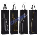 groothandel Food producten: Fles bag  wijn   zwart, 4 / gesorteerd