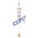 wholesale Wooden Toys: Wind - sound play, wood-aluminum 52cm