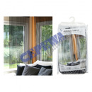 wholesale Curtains & Drapery: Thread curtain deluxe glossy, black