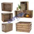 wholesale Garden & DIY store: Wood  fruit crate  used! 30x50x40cm
