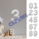 wholesale Wall Tattoos: Wall sticker 'number' 0-9 approx. 13x21cm