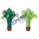 groothandel Airco's & ventilatoren: Handventilator 'cactus' ca. 20x14cm,