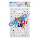 Bag 'Birthday' set of 10, approx. 25x17cm
