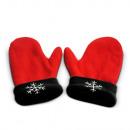 wholesale Gloves: Zakochane  rękawiczki - Czerwono-czarny