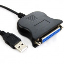 USB à 25 broches DB25 Parallel Printer Cable