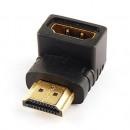 HDMI-Stecker auf HDMI-Buchse mit 90 °