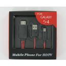 groothandel Accu's, kabels & adapters: Micro USB MHL naar  HDMI Adapter Kabel Inclusief US