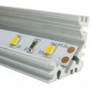 Aluminium U-Profil 90-Grad-Winkel 100CM F