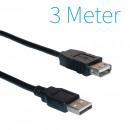 USB 2.0 Extension Cable 3 mètres
