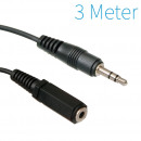 grossiste Electronique de divertissement: Jack 3.5mm  Extension Cable 3 mètres