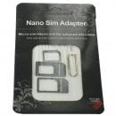 Nano et Micro SIM  Adaptateur pour Smartphones et T