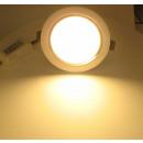 LED Downlight warmes Weiß 9W einschließlich Fahrer