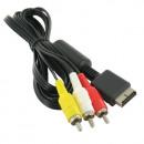 RGB AV-Kabel für Playstation 1, 2 und 3