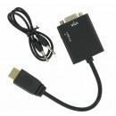 groothandel Computer & telecommunicatie: HDMI naar VGA +  Audio Converter Kabel