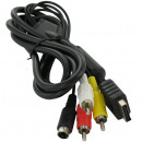 S-Video+AV Tulp kabel voor Playstation 2 en 3
