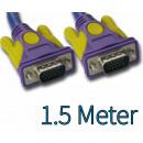 groothandel Accu's, kabels & adapters: SVGA Monitor kabel 1,5 meter